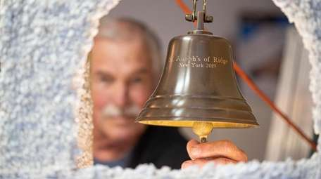 Joe Jareck had a brass bell, which is