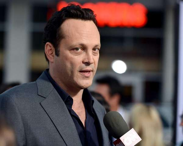 Vince Vaughn arrives at the premiere of his
