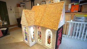 Joe Jareck of Ridge created a Christmas church