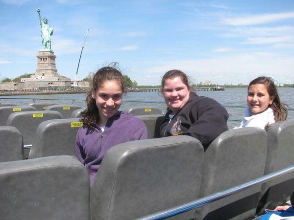 Kidsday reporters Paige Talarico, Olivia Murphy, Juliana Pagan,