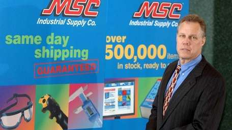 Melville-based MSC Industrial Direct Co. plans to build
