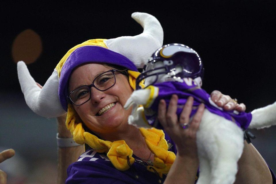 ARLINGTON, TEXAS - NOVEMBER 10: A Minnesota Vikings