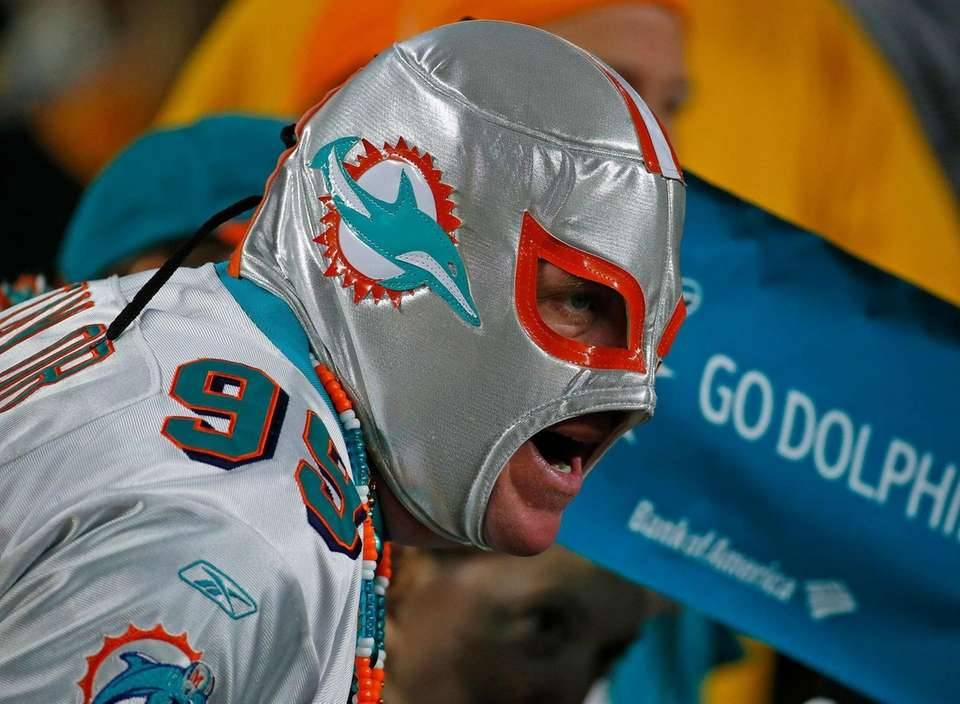 PITTSBURGH, PA - OCTOBER 28: A Miami Dolphins