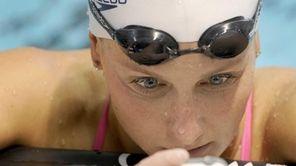 U.S. Olympic swim team member Kara Lynn Joyce