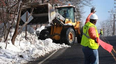 Brookhaven Town is increasing its snow removal budget
