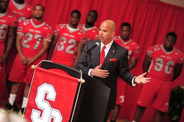 Jim Fiore, the Stony Brook University athletic director,