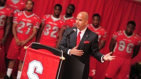 Jim Fiore, the Stony Brook University athletic director,