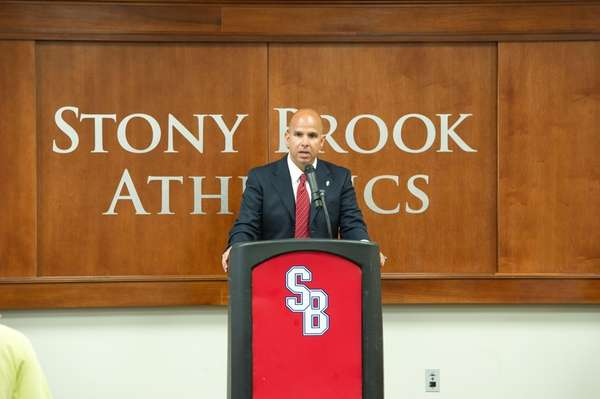 Former Stony Brook University athletic director Jim Fiore.