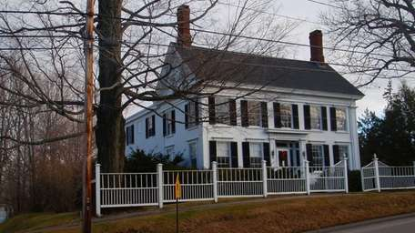 The house where Harriet Beecher Stowe lived in