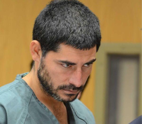 Jose Escobar, 29, of Westbury, inside Suffolk County