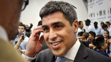 Former U.S. national team soccer captain Claudio Reyna