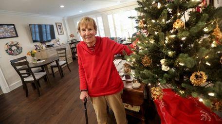 "Marilyn Benner, 78, a retired teacher, said, ""It's"