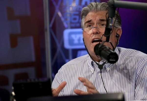 WFAN long-time radio host Mike Francesa. (June 19,