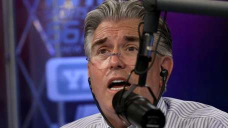 WFAN long-time radio host Mike Francesa on June