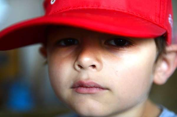 Steven Heckman, 6, of Amityville was diagnosed with