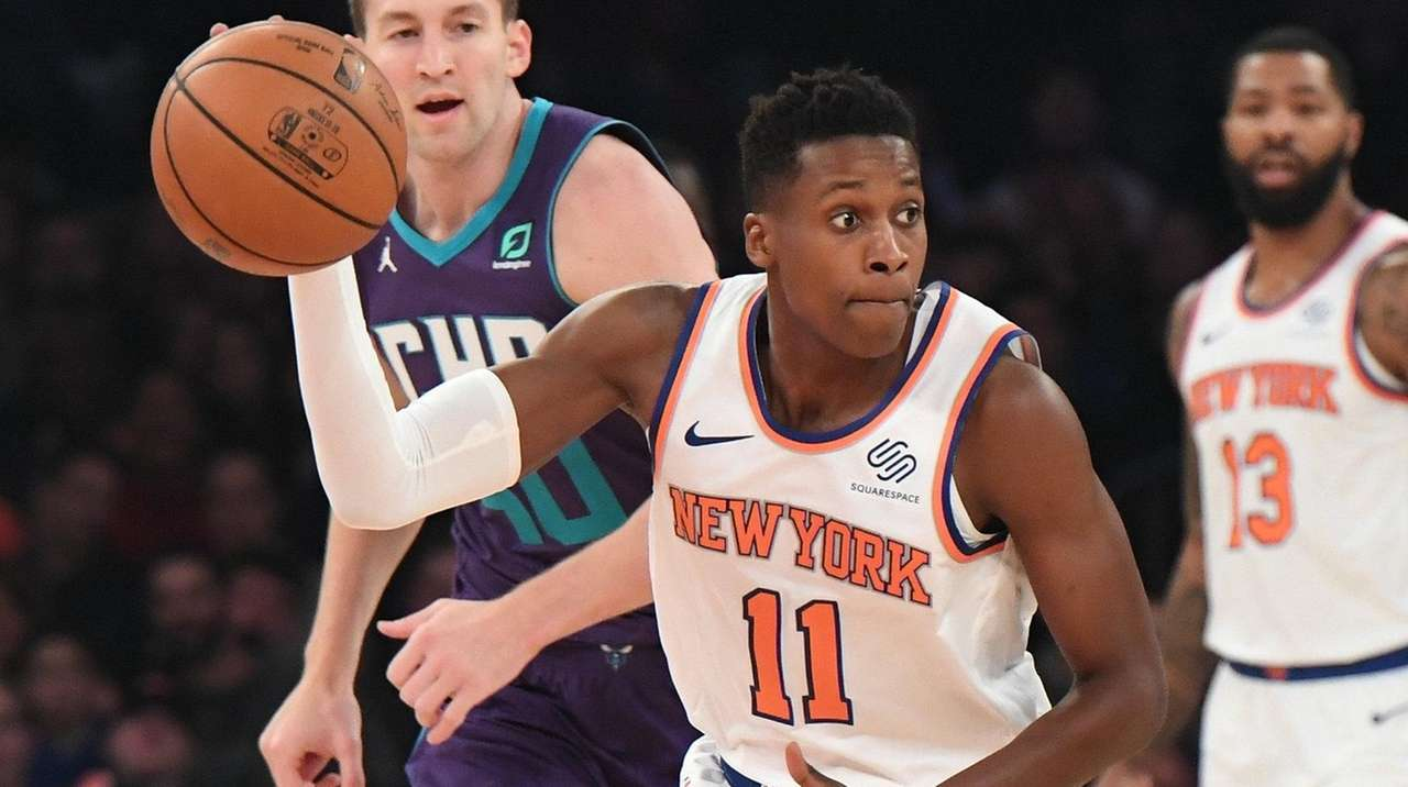 Ntilikina gaining confidence as starter for Knicks