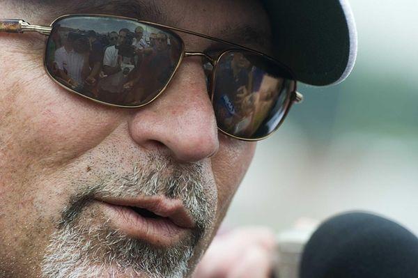 New York Jets' offensive coordinator Tony Sparano talks