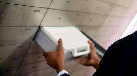 Make sure to check your safety deposit box