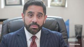 Xavier Palacios, an attorney and member of Huntington's
