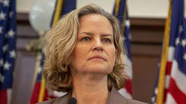 Nassau County Executive Laura Curran on Jan. 17