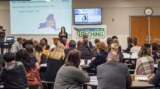 Teachers and students attend education summit on ways