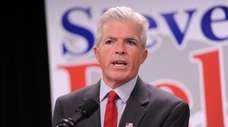 Suffolk County Executive Steve Bellone speaks in Hauppauge