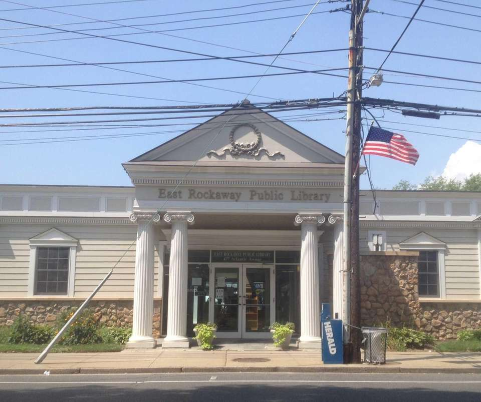 The East Rockaway Public Library is located at