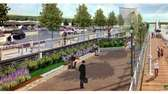 Images of the proposed Glen Cove ferry terminal,