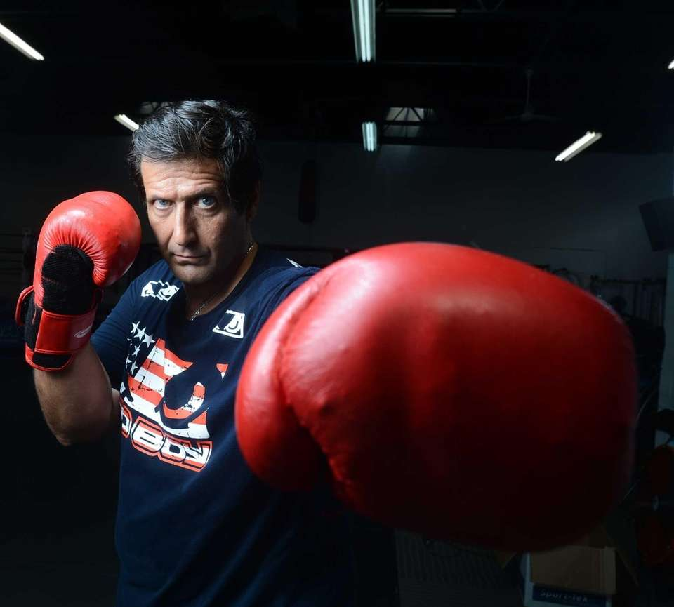 Trainer and striking coach Ray Longo at a