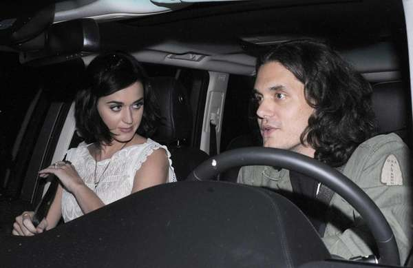 Katy Perry and John Mayer were photographed after
