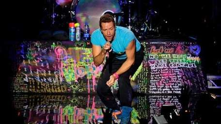 Chris Martin of Coldplay (Getty Images)