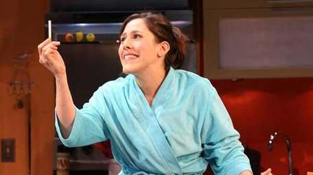 Farah Alvin as Pam in the Off-Broadway musical