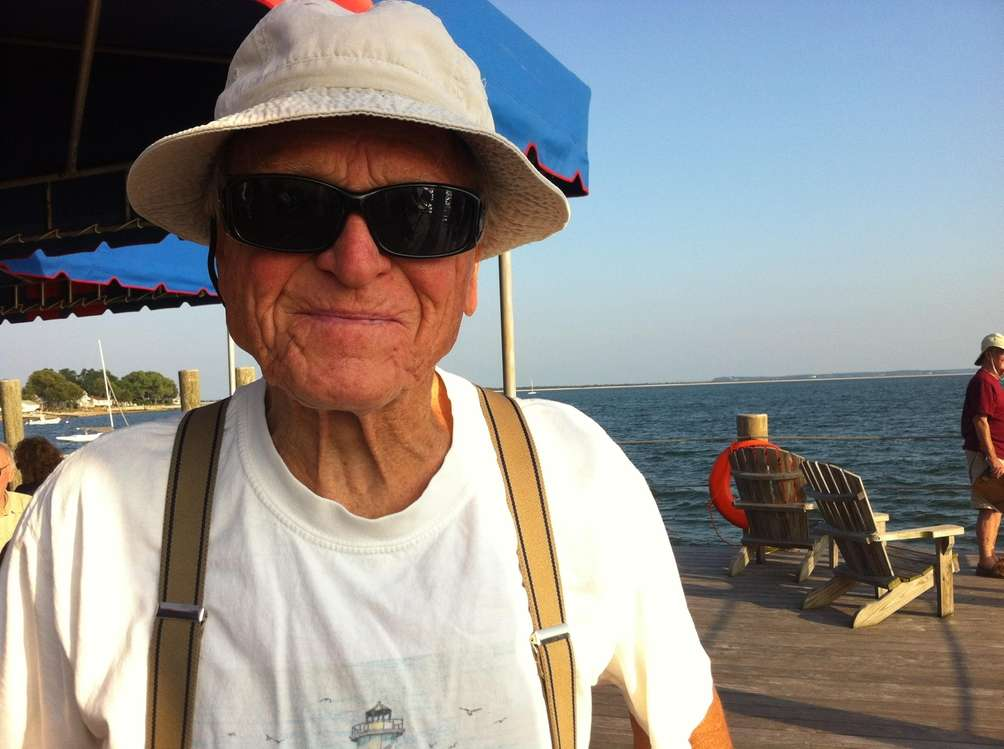 Walter Strohmeyer, 83, Orient, is a member of