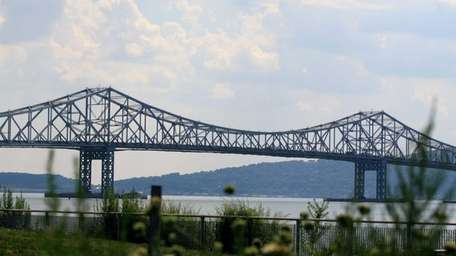 A view of the Tappan Zee Bridge from