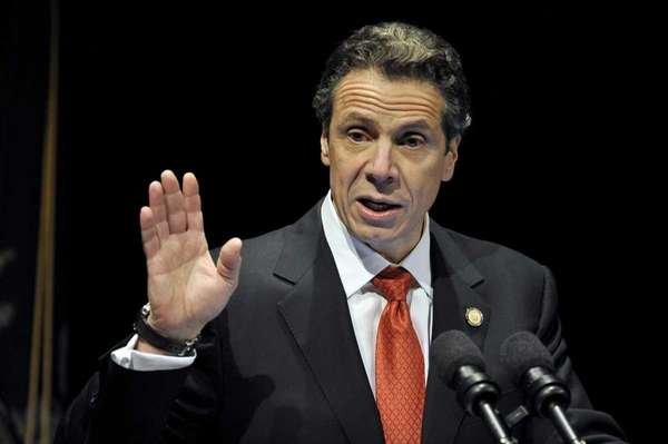 New York State Gov. Andrew Cuomo is shown