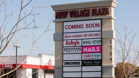 An Arby's, a nail salon and an AT&T