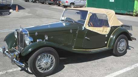 THE CAR AND ITS OWNER 1952 MG TD