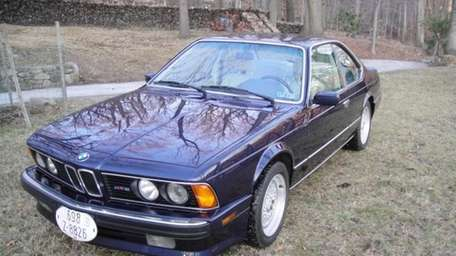 THE CAR AND ITS OWNER 1988 BMW M6