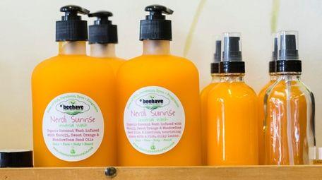 Neroli Sunrise, a universal wash for hair, face,