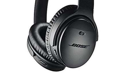 Bose noise cancelling wireless headphones.