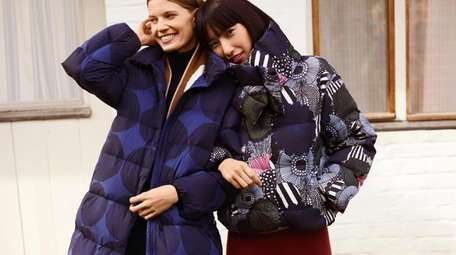 These printed cocoon jackets from UNIQLO will keep