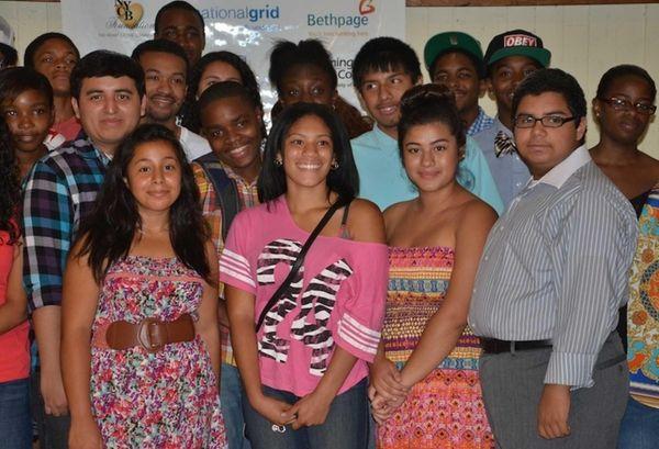 Westbury and Hempstead high school students presented four