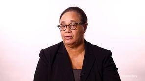 Newsday columnist Joye Brown spoke Friday about the
