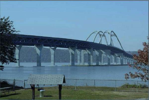 A preliminary rendering of the new Tappan Zee