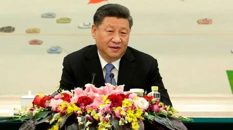 Chinese President Xi Jinping in Beijing on Friday.