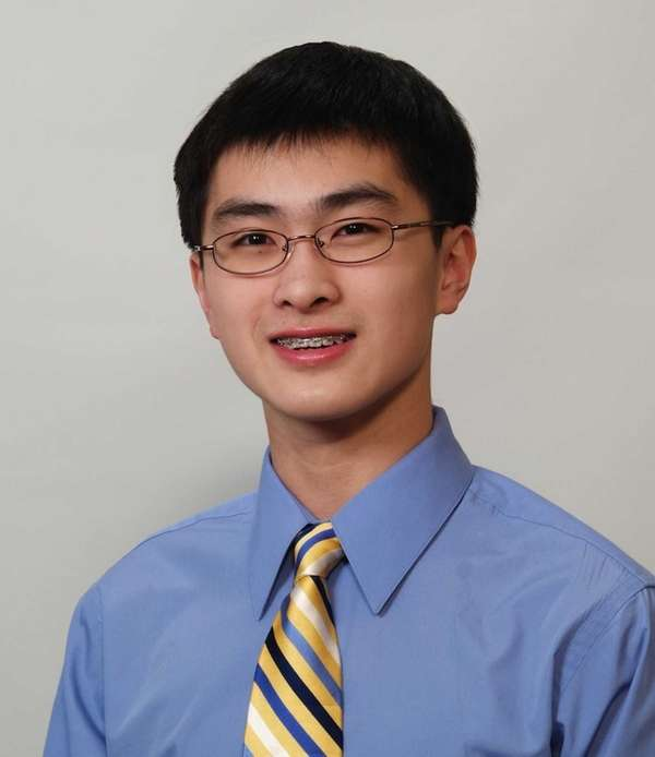 Christopher Yao, 15, who will be starting his