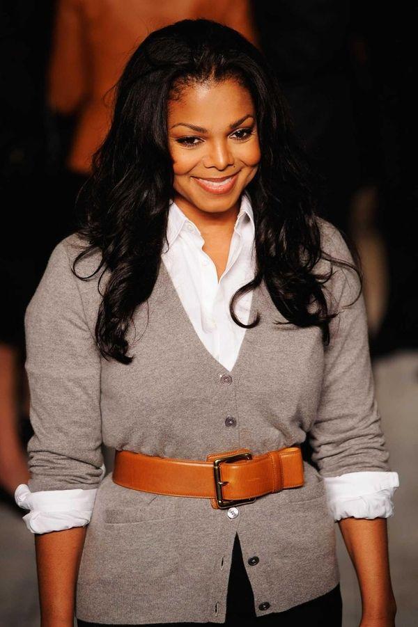 Singer Janet Jackson attends the Ralph Lauren Spring