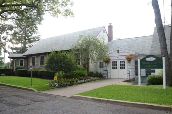 Brightwaters Village Hall, at 40 Seneca Dr., houses
