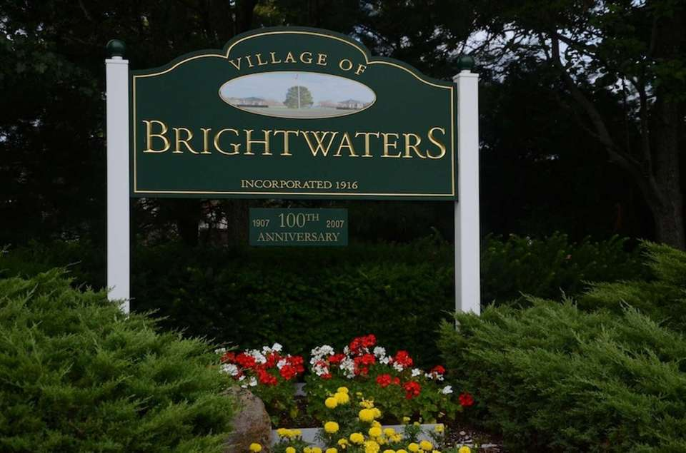 Brightwaters, an incorporated village in the Town of