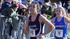 Nicole Schneider of North Shore finished 32nd with